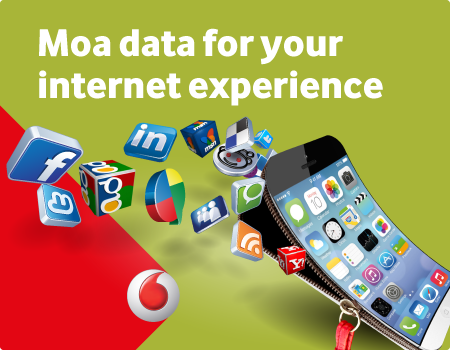 Moa data for your internet experience