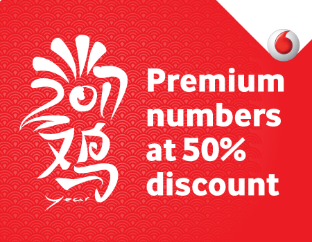 Celebrate Chinese New Year with 50% discount on Premium numbers