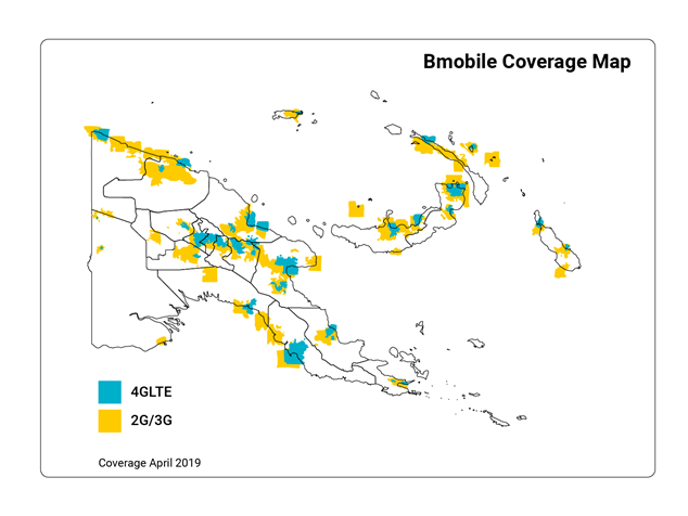 Network Coverage April 2019