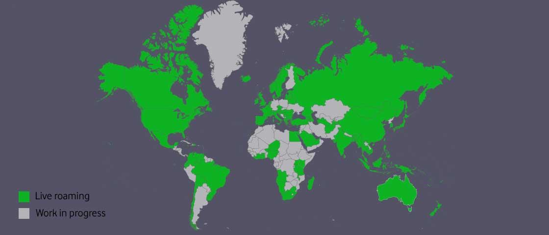 roaming map